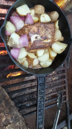 Campfire Pork & Potatoes